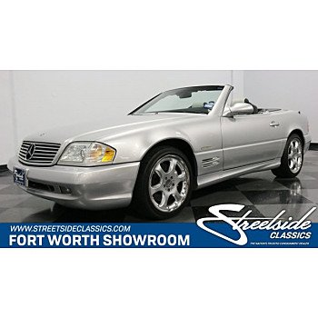 2002 Mercedes-Benz SL500 for sale 101091393